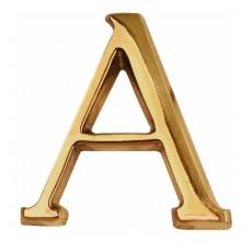 litery wbijane mosiężne