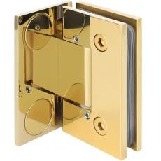 zawias do drzwi szklanych SHT-B3 AD (z zaślepkami i regulacją kąta)