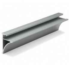 profil aluminiowy do półki szklanej P8 - 8 mm