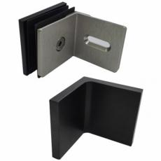 uchwyt ściana-szkło 90°<br />GC-90B1 CV ORB<br />(kryte śruby)